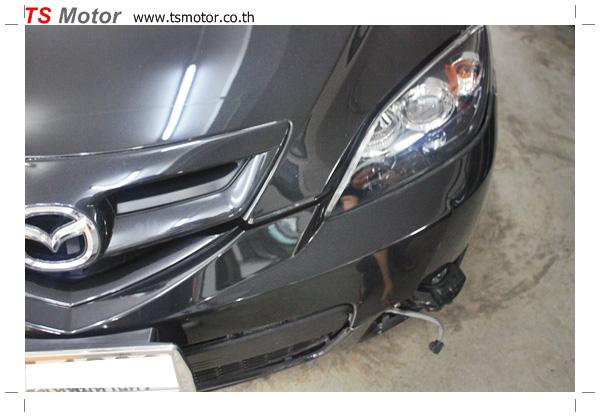 IMG 4975 อู่ ซ่อมสีรถยนต์ อู่ซ่อมสีรถ MAZDA 3  สีดำ โดย ศูนย์บริการ TS Motor เปลี่ยนกันชนหน้า อะไหล่