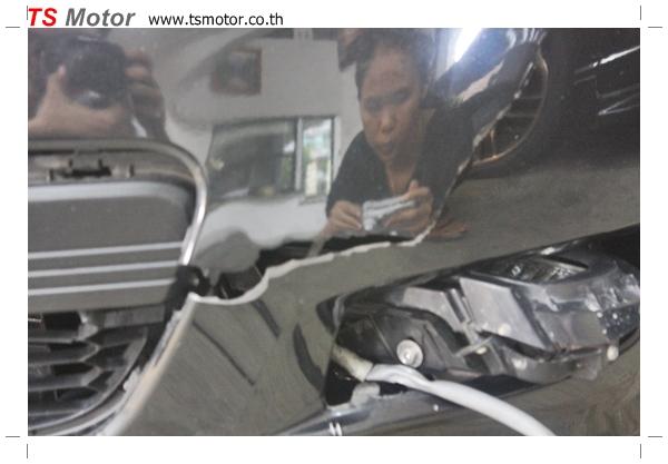IMG 4977 อู่ ซ่อมสีรถยนต์ อู่ซ่อมสีรถ MAZDA 3  สีดำ โดย ศูนย์บริการ TS Motor เปลี่ยนกันชนหน้า อะไหล่