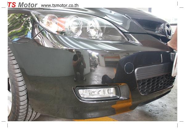 IMG 5226 อู่ ซ่อมสีรถยนต์ อู่ซ่อมสีรถ MAZDA 3  สีดำ โดย ศูนย์บริการ TS Motor เปลี่ยนกันชนหน้า อะไหล่