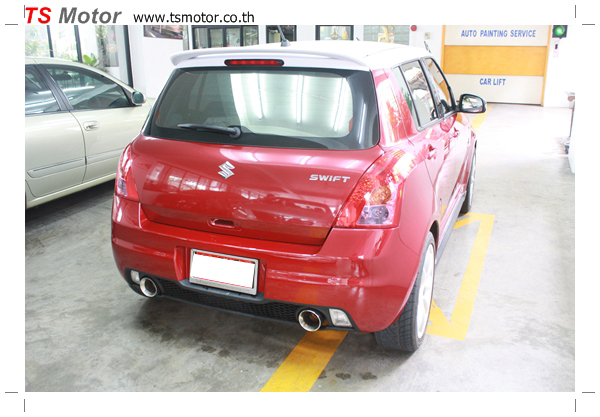 IMG 5921 อู่ซ่อมสี ศูนย์ซ่อมสี Susuki Swift  สีแดง พ่นสี เก็บสีกันชน ชิ้นส่วน โดย ศูนย์ซ่อมสีรถ TS Motor