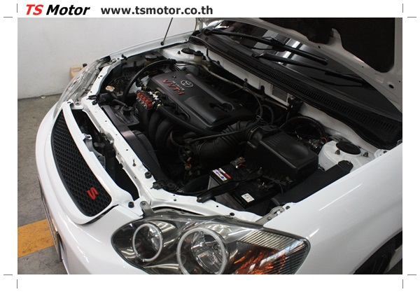 IMG 63844 อู่ซ่อมสี ศูนย์ซ่อมสี Toyota Altis  สีขาวมุก Zero Black เปลี่ยนสีรอบคัน ติดตั้งชุดแต่ง Levin โดย ศูนย์ซ่อมสีรถ TS Motor