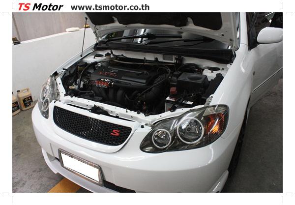 IMG 64004 อู่ซ่อมสี ศูนย์ซ่อมสี Toyota Altis  สีขาวมุก Zero Black เปลี่ยนสีรอบคัน ติดตั้งชุดแต่ง Levin โดย ศูนย์ซ่อมสีรถ TS Motor