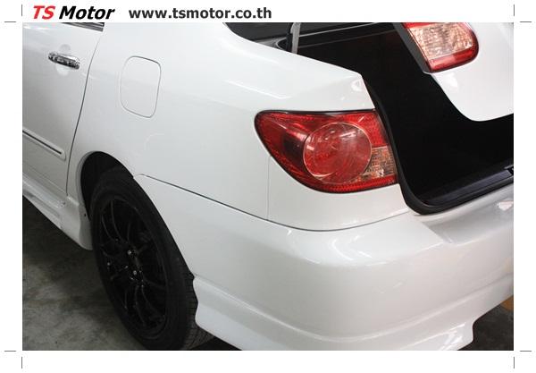 IMG 64124 อู่ซ่อมสี ศูนย์ซ่อมสี Toyota Altis  สีขาวมุก Zero Black เปลี่ยนสีรอบคัน ติดตั้งชุดแต่ง Levin โดย ศูนย์ซ่อมสีรถ TS Motor