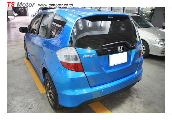 IMG 6891 งานซ่อมสีรถยนต์ Honda New Jazz 2012 สีฟ้า จาก อู่สีรถ TS Motor