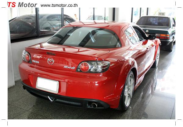 IMG 7222 อู่ซ่อมสี ศูนย์ซ่อมสี Mazda RX8  สีแดง พ่นสี เก็บสีกันชน ชิ้นส่วน โดย ศูนย์ซ่อมสีรถ TS Motor