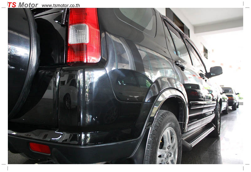 IMG 9556 Honda CRV Paint chip repair and service from TS Motor Garage Bangkok Pathumwan