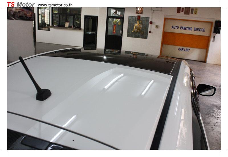 IMG 9586 งานเปลี่ยนหลังคาแก้ว Sunroof  Honda New Jazz พร้อมติดตั้งระบบไฟ โดย อู่ TS Motor