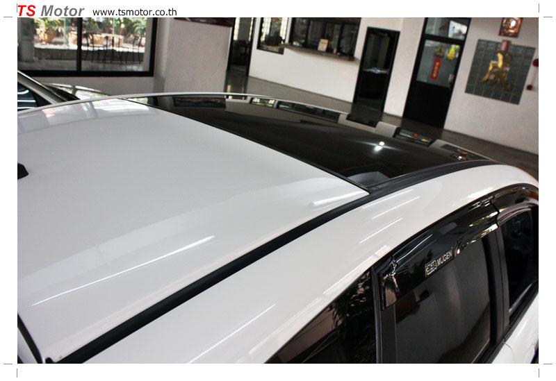 IMG 9588 งานเปลี่ยนหลังคาแก้ว Sunroof  Honda New Jazz พร้อมติดตั้งระบบไฟ โดย อู่ TS Motor