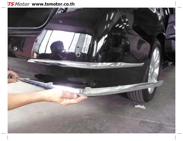 IMG 0321 อู่ซ่อมสี ศูนย์ซ่อมสี Nissan TEANA  สีดำ พ่นสี เปลี่ยนอะไหล่ กันชนหลัง โดยการ เคลมประกัน โดย TS Motor