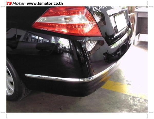 IMG 0343 อู่ซ่อมสี ศูนย์ซ่อมสี Nissan TEANA  สีดำ พ่นสี เปลี่ยนอะไหล่ กันชนหลัง โดยการ เคลมประกัน โดย TS Motor