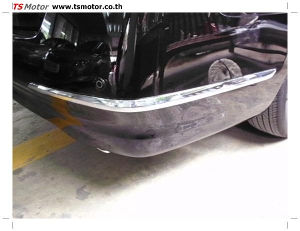 IMG 0345 อู่ซ่อมสี ศูนย์ซ่อมสี Nissan TEANA  สีดำ พ่นสี เปลี่ยนอะไหล่ กันชนหลัง โดยการ เคลมประกัน โดย TS Motor