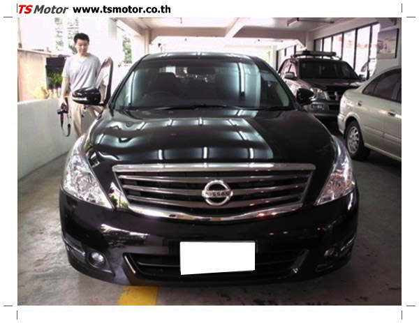 IMG 0349 อู่ซ่อมสี ศูนย์ซ่อมสี Nissan TEANA  สีดำ พ่นสี เปลี่ยนอะไหล่ กันชนหลัง โดยการ เคลมประกัน โดย TS Motor