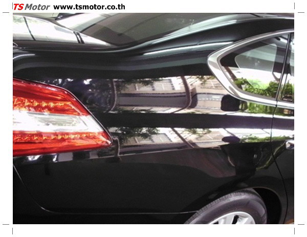 IMG 0350 อู่ซ่อมสี ศูนย์ซ่อมสี Nissan TEANA  สีดำ พ่นสี เปลี่ยนอะไหล่ กันชนหลัง โดยการ เคลมประกัน โดย TS Motor