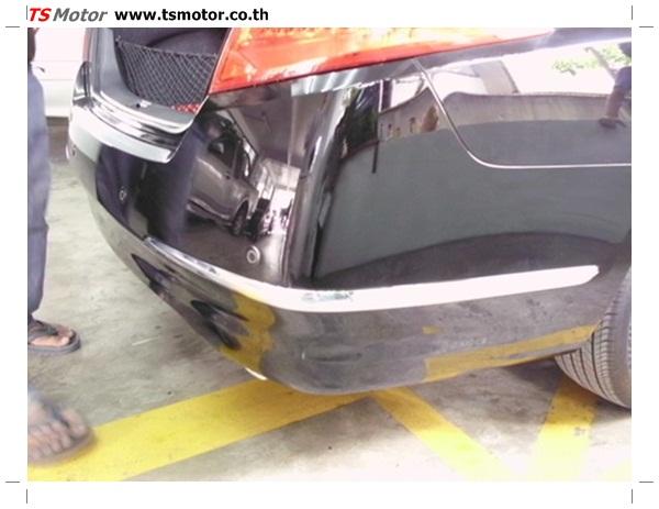 IMG 0351 อู่ซ่อมสี ศูนย์ซ่อมสี Nissan TEANA  สีดำ พ่นสี เปลี่ยนอะไหล่ กันชนหลัง โดยการ เคลมประกัน โดย TS Motor