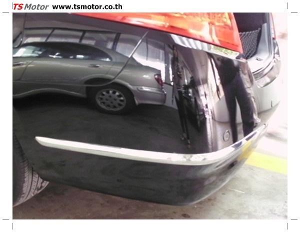 IMG 0352 อู่ซ่อมสี ศูนย์ซ่อมสี Nissan TEANA  สีดำ พ่นสี เปลี่ยนอะไหล่ กันชนหลัง โดยการ เคลมประกัน โดย TS Motor