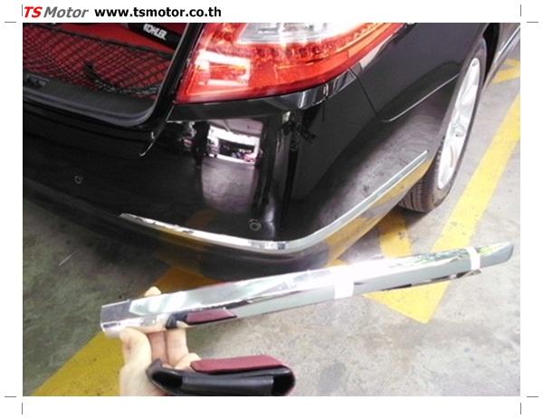 IMG 0355 อู่ซ่อมสี ศูนย์ซ่อมสี Nissan TEANA  สีดำ พ่นสี เปลี่ยนอะไหล่ กันชนหลัง โดยการ เคลมประกัน โดย TS Motor