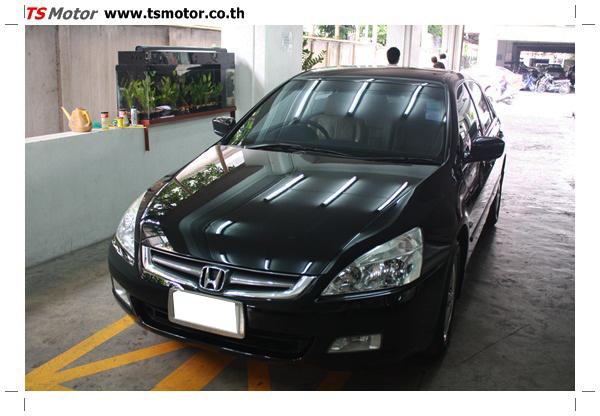 IMG 1251 งานซ่อมสีรถยนต์ Honda Accord G7 สีดำ