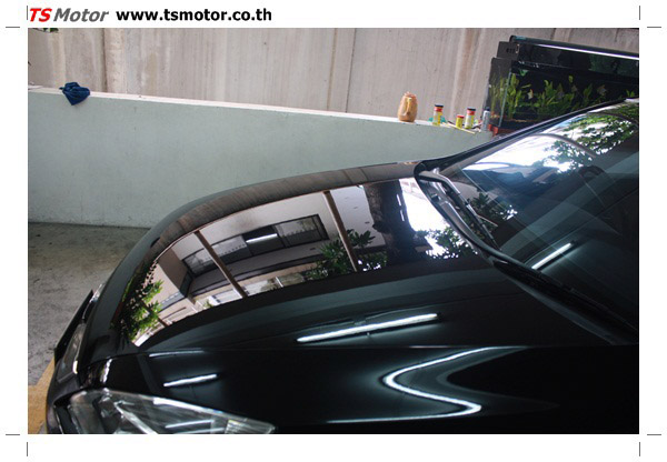 IMG 1253 งานซ่อมสีรถยนต์ Honda Accord G7 สีดำ