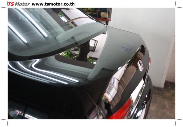 IMG 1258 งานซ่อมสีรถยนต์ Honda Accord G7 สีดำ