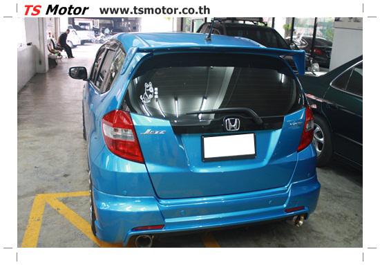 IMG 2147 งานทำสีรถยนต์ Honda New Jazz สีน้ำเงิน จาก ศูนย์บริการซ่อมสีรถ TS Motor