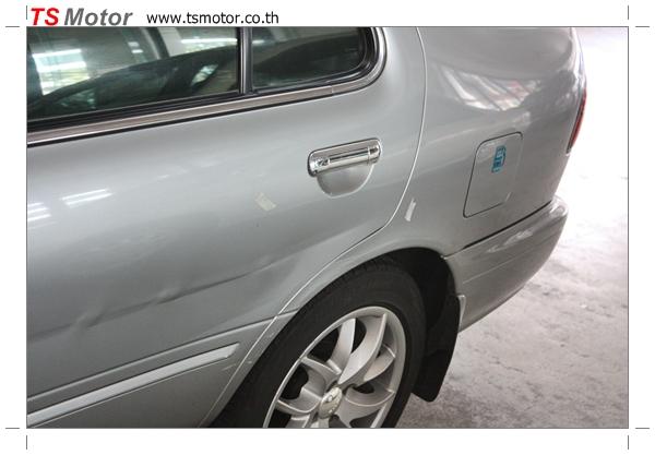 IMG 2552 งานเคาะพ่นสี เปลี่ยนอะไหล่ Nissan Sunny Saloon  สีบรอนซ์ โดยการ เคลมประกัน โดย TS Motor