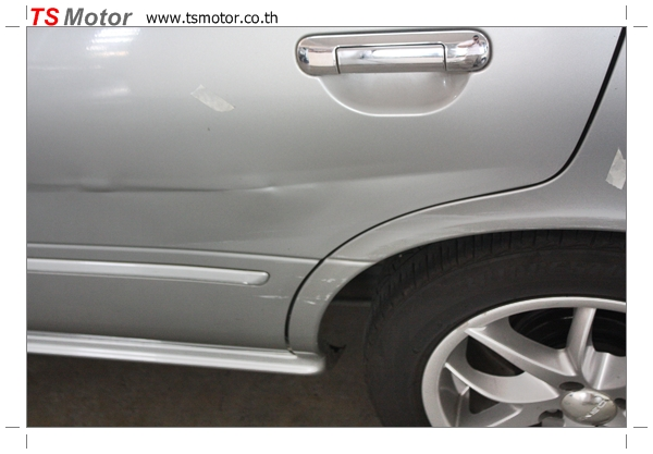 IMG 2553 งานเคาะพ่นสี เปลี่ยนอะไหล่ Nissan Sunny Saloon  สีบรอนซ์ โดยการ เคลมประกัน โดย TS Motor