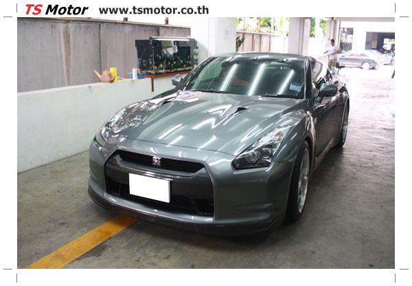 IMG 3304 งานซ่อมสีชิ้นส่วน เปลี่ยนอะไหล่ Nissan Skyline  สีเทา โดยการ เคลมประกัน โดย TS Motor