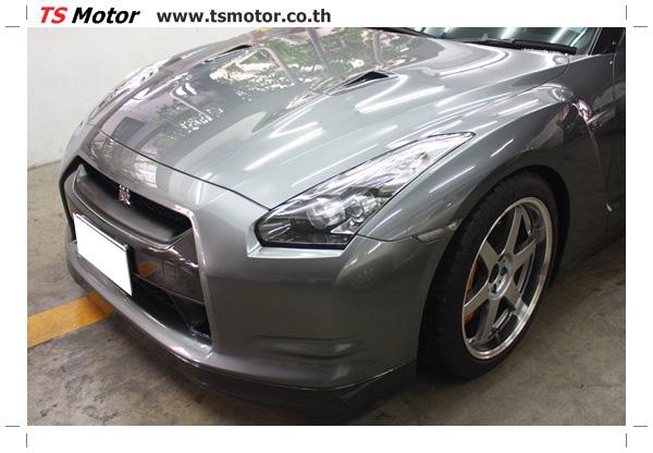 IMG 3306 งานซ่อมสีชิ้นส่วน เปลี่ยนอะไหล่ Nissan Skyline  สีเทา โดยการ เคลมประกัน โดย TS Motor