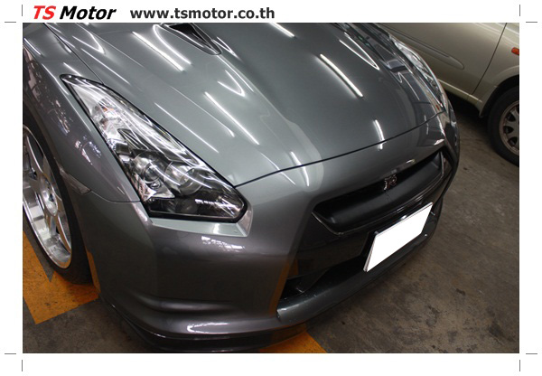 IMG 3310 งานซ่อมสีชิ้นส่วน เปลี่ยนอะไหล่ Nissan Skyline  สีเทา โดยการ เคลมประกัน โดย TS Motor