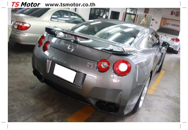 IMG 3312 งานซ่อมสีชิ้นส่วน เปลี่ยนอะไหล่ Nissan Skyline  สีเทา โดยการ เคลมประกัน โดย TS Motor