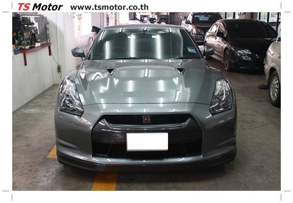 IMG 3313 งานซ่อมสีชิ้นส่วน เปลี่ยนอะไหล่ Nissan Skyline  สีเทา โดยการ เคลมประกัน โดย TS Motor