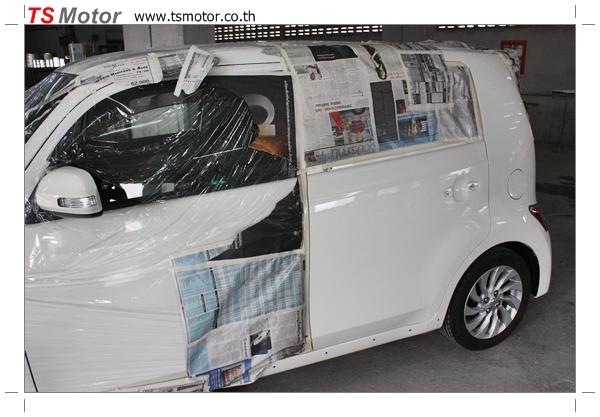 IMG 3546 อู่ซ่อมสี ศูนย์ซ่อมสี Toyota BB  สีขาว โดย ศูนย์ซ่อมสีรถ TS Motor