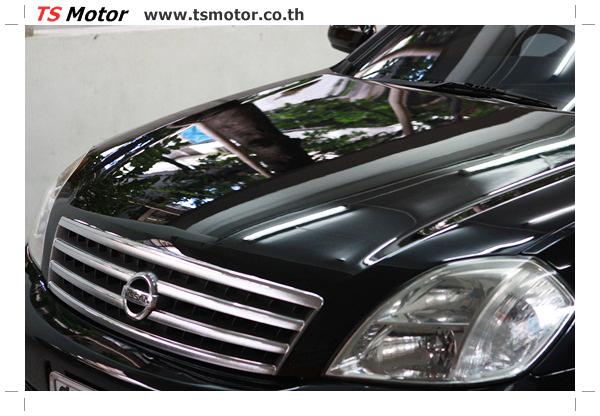 IMG 4030 งานเคาะ พ่นสีรอบคัน Nissan TEANA  สีดำ โดยการ เคลมประกัน โดย TS Motor
