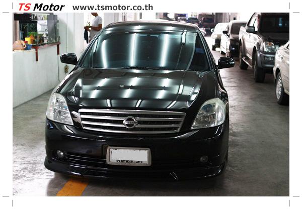 IMG 4031 งานเคาะ พ่นสีรอบคัน Nissan TEANA  สีดำ โดยการ เคลมประกัน โดย TS Motor