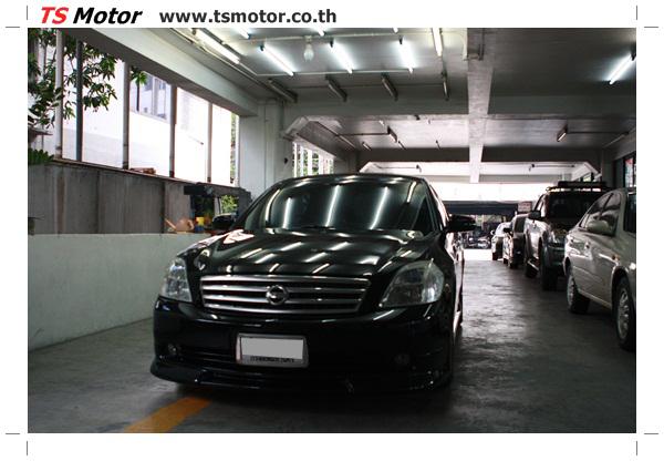 IMG 4032 งานเคาะ พ่นสีรอบคัน Nissan TEANA  สีดำ โดยการ เคลมประกัน โดย TS Motor