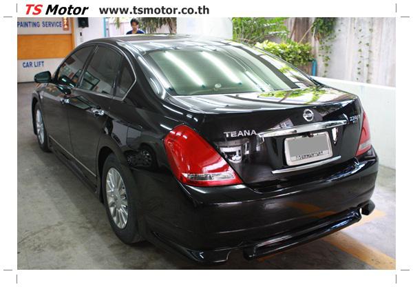IMG 4034 งานเคาะ พ่นสีรอบคัน Nissan TEANA  สีดำ โดยการ เคลมประกัน โดย TS Motor