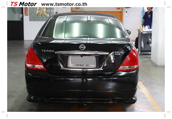 IMG 4037 งานเคาะ พ่นสีรอบคัน Nissan TEANA  สีดำ โดยการ เคลมประกัน โดย TS Motor