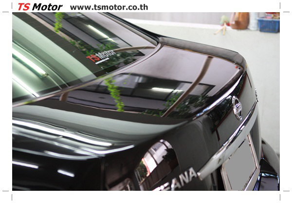 IMG 4038 งานเคาะ พ่นสีรอบคัน Nissan TEANA  สีดำ โดยการ เคลมประกัน โดย TS Motor