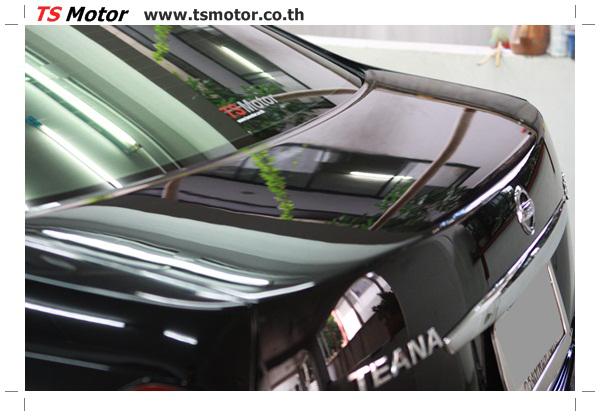 IMG 4039 งานเคาะ พ่นสีรอบคัน Nissan TEANA  สีดำ โดยการ เคลมประกัน โดย TS Motor