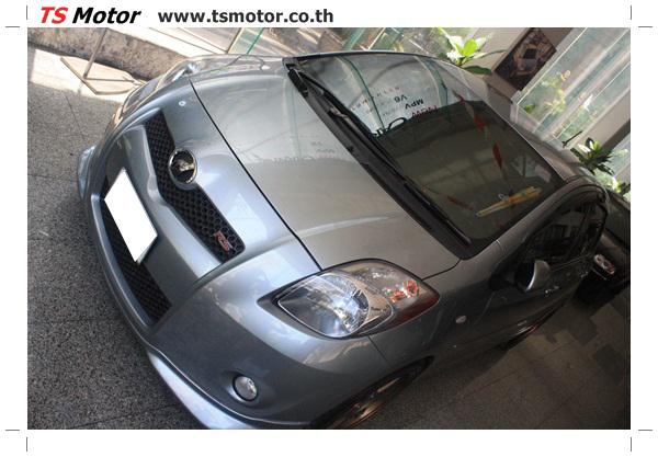 ศูนย์บริการ พ่นสีเชิ้นส่วนต่างๆ เก็บงานรอบคัน โตโยต้ายาริส Toyota Yaris  สีเทาเขียว โดย ศูนย์ซ่อมสีรถ TS Motor ปทุมวัน