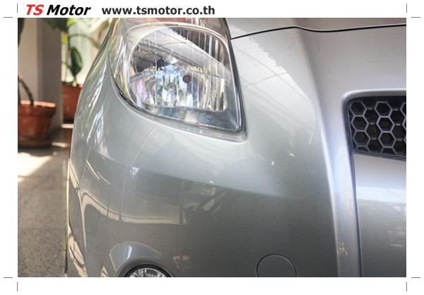 IMG 4888 ศูนย์บริการ พ่นสีเชิ้นส่วนต่างๆ เก็บงานรอบคัน โตโยต้ายาริส Toyota Yaris  สีเทาเขียว โดย ศูนย์ซ่อมสีรถ TS Motor ปทุมวัน