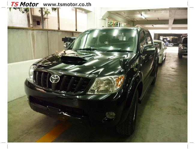 P1130138 อู่สี ซ่อมสี เปลี่ยนเฉดสีรอบคัน โตโยต้า วีโก้ Toyota VIGO  สีดำ zero black ศูนย์ซ่อมสีรถ ที เอส มอเตอร์