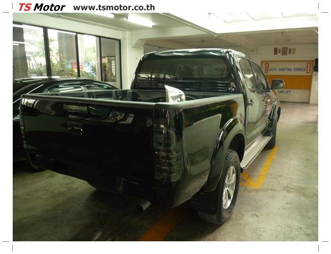 P1130142 อู่สี ซ่อมสี เปลี่ยนเฉดสีรอบคัน โตโยต้า วีโก้ Toyota VIGO  สีดำ zero black ศูนย์ซ่อมสีรถ ที เอส มอเตอร์