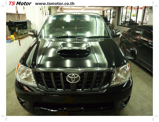 P1130144 อู่สี ซ่อมสี เปลี่ยนเฉดสีรอบคัน โตโยต้า วีโก้ Toyota VIGO  สีดำ zero black ศูนย์ซ่อมสีรถ ที เอส มอเตอร์
