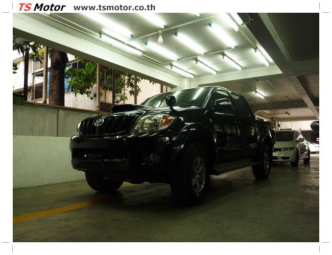 P1130147 อู่สี ซ่อมสี เปลี่ยนเฉดสีรอบคัน โตโยต้า วีโก้ Toyota VIGO  สีดำ zero black ศูนย์ซ่อมสีรถ ที เอส มอเตอร์