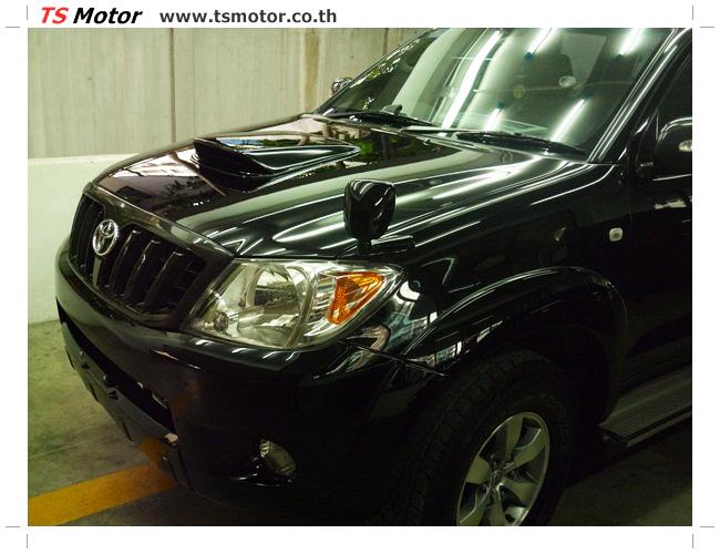 P1130149 อู่สี ซ่อมสี เปลี่ยนเฉดสีรอบคัน โตโยต้า วีโก้ Toyota VIGO  สีดำ zero black ศูนย์ซ่อมสีรถ ที เอส มอเตอร์