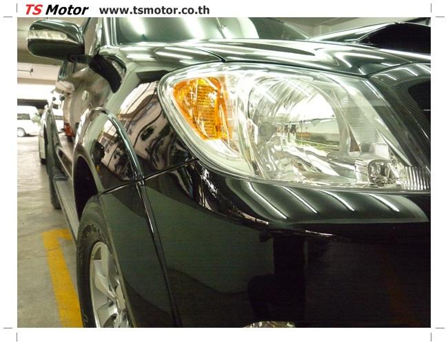 P1130154 อู่สี ซ่อมสี เปลี่ยนเฉดสีรอบคัน โตโยต้า วีโก้ Toyota VIGO  สีดำ zero black ศูนย์ซ่อมสีรถ ที เอส มอเตอร์