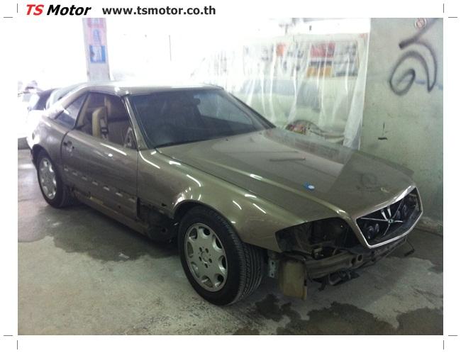 IMG 1206 Mercedes Benz SL500 Color Change