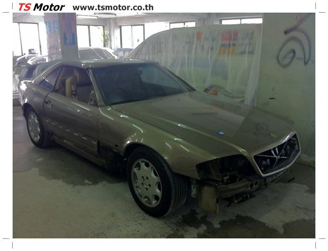 IMG 1207 Mercedes Benz SL500 Color Change