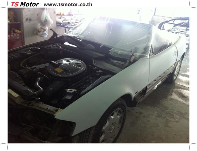 IMG 1230 Mercedes Benz SL500 Color Change
